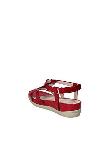 Sandalo 110300 Donna 38 Zeppa Stonefly Rosso q750xd0Zw
