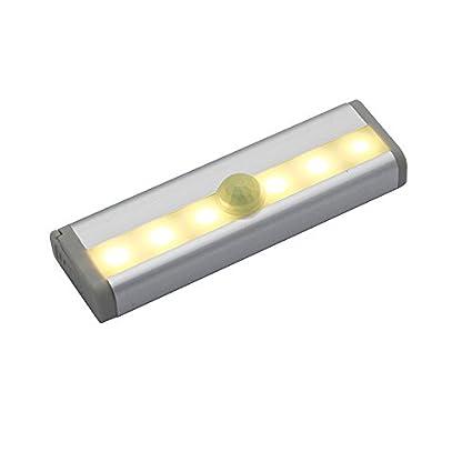 ONEVER LED bajo luz del gabinete de la l¨¢mpara PIR sensor de movimiento