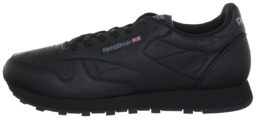 intense Noir Basses Baskets Classic Femme Leather Black Reebok 7Xw8tYqn8