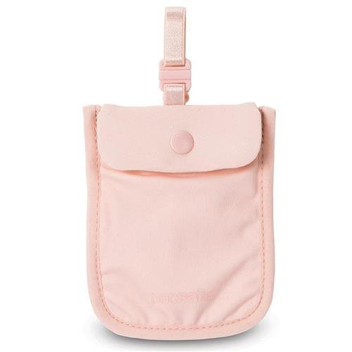 Pacsafe Coversafe S25 Anti-Theft Secret Bra Pouch, Orchid Pink