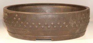 Bonsaiboy Brown Mica Bonsai Pot - Round 14
