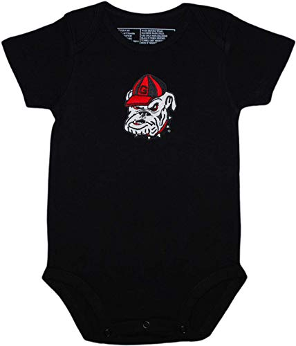 (Georgia Newborn Baby Clothes, Bulldog, Boy and Girl College)