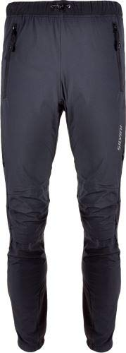 (SILVINI Men's ski Touring Pants SORACTE MP1144 Black (Black, M))