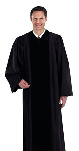 Black Pastor / Pulpit Robe (Medium 55) (Pulpit Robe)