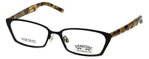 Levi Strauss Designer Reading Glasses LS4005 in Black 52mm +2.00 (Eyewear Levi's)