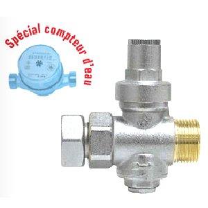 Somatherm 5192-20-20 R/éducteur de Pression apr/ès Compteur /écrou m/âle 20//27 Gris
