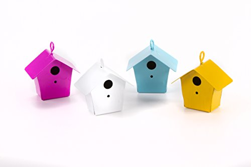(Darice Yard and Garden Minis Metal Birdhouse 1.5 x 1.5 Inches Assorted)