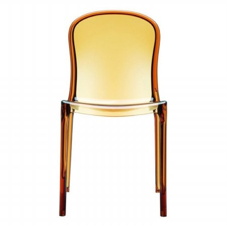 Victoria Chair (Set of 4) - Transparent Amber