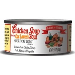 Chicken Soup For The Cat Lover's Soul Light Cat Formula, My Pet Supplies
