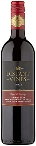 Broadland Wineries – Distant Vines Shiraz British Red Wine (6 x 75cl Bottles)