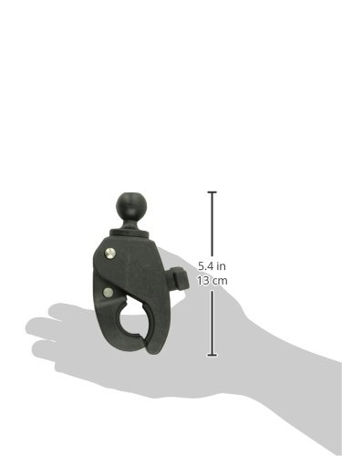 "RAM Mounts  Medium Tough-Claw with 1"" Diameter Rubber Ball"