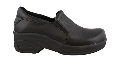 Easy Works Womens Appreciate Health Care Professional Shoe  Black  9 W Us