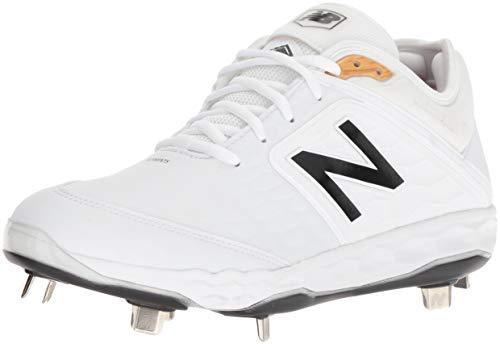 New Balance Men's 3000v4 Baseball Shoe, White, 11 D US