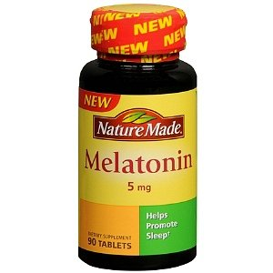 Nature Made comprimés de mélatonine, 5 mg, 90 Count