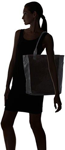 x Pctalina B x Black 14x40x35 Bag PIECES Women's Suede cm Shoulder T H Shopper SAfpq