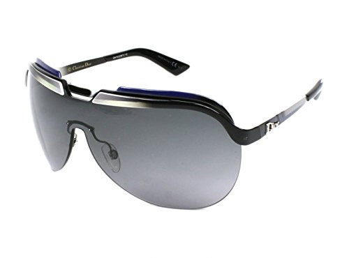 DIOR Sunglasses SOLAR/S 06Ou Black White Gray - Sunglasses C Dior