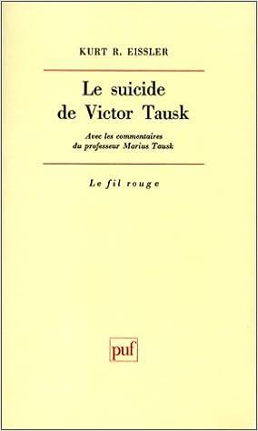 En ligne téléchargement gratuit Le suicide de Victor Tausk epub, pdf