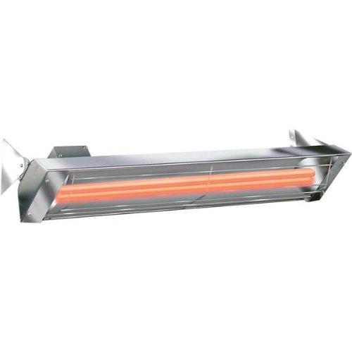 Infratech 39 in. Single Element 2500 Watt Stainless Steel Quartz -