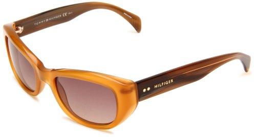 Tommy Hilfiger Women's TH1088S Cat Eye Sunglasses,Opal Honey Frame/Brown Gradient Lens,One - Tommy Sunglasses Prescription Hilfiger