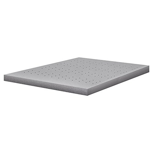 VLAVEN 2 Inch Bamboo Charcoal Memory Foam Mattress Topper - CertiPUR-US Certified - Full by VLAVEN