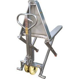 Wesco 272859 Manual High Lift, Stainless - High Lift Wesco Pallet
