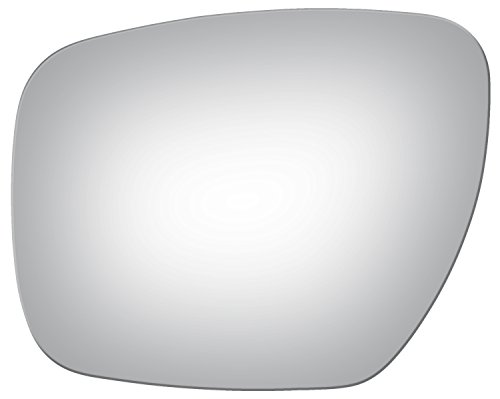 Burco 4143 Flat Driver Side Replacement Mirror Glass (Mount Not Included) - 2006-2014 Mazda 5, 2007-2009 Mazda CX-9, 2007-2012 Mazda CX-7 (Mazda Cx 9 Driver Side Mirror Replacement)