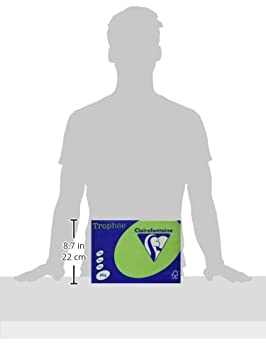 Clairefontaine Troph/ée 21 x 29.7 cm A4 color lavanda 500 hojas 80 gr//m/² Resma de papel