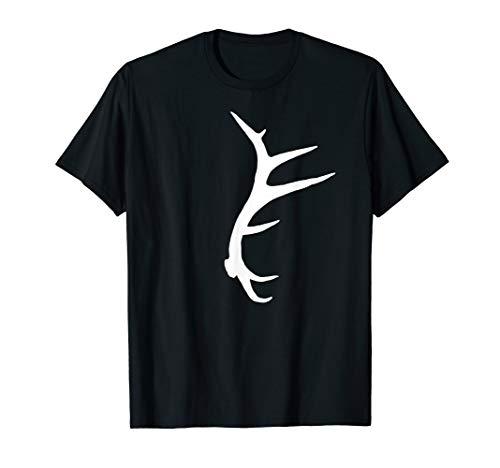 Classic Antler - Classic Elk Shed Antler T-shirt; Mens Horn Hunter Elk Shirt