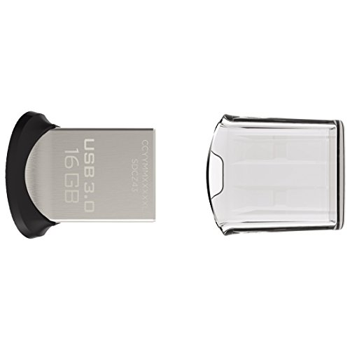 619659115449 - SanDisk Ultra Fit 16GB USB 3.0 Flash Drive SDCZ43-016G-G46 carousel main 2
