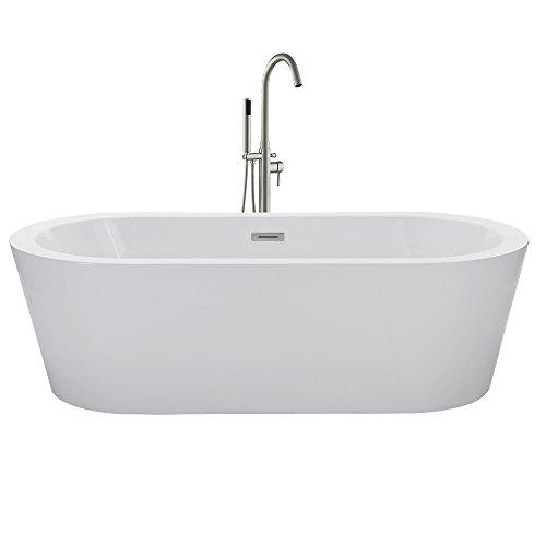 60 inch freestanding bathtub - 6