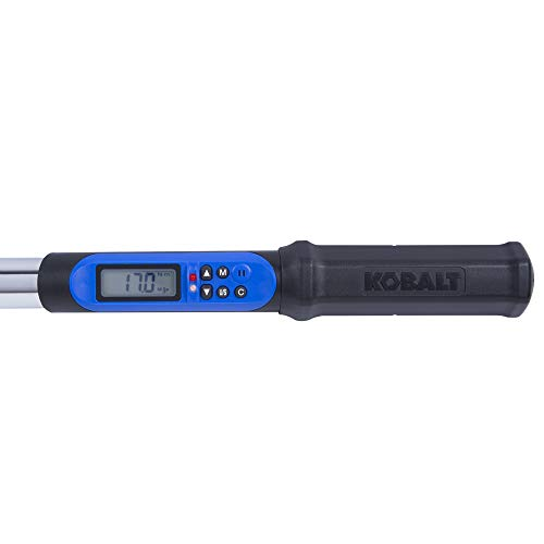 Kobalt 856839 1/2-Inch Drive 12.5-250 Foot-Pound Programmable Electronic Torque Wrench with Torque-Angle by Kobalt (Image #1)