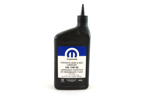 1 Synthetic Gear Lubricant - Genuine Chrysler Fluid 5010320AA SAE 75W-90 Synthetic Gear Lubricant - 1 Quart