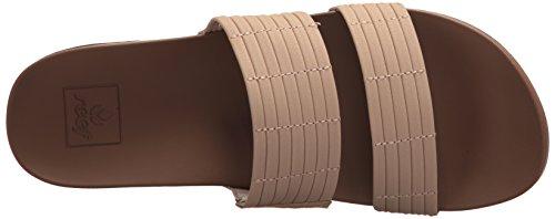 Reef Women's Cushion Bounce Slide Sandal Brown (Nude Nude) e6BT5Pl