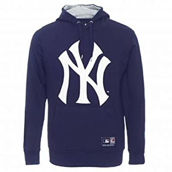 lowest price a286f 68e29 Official New York Yankees Crest Hoodie by Majestic ...