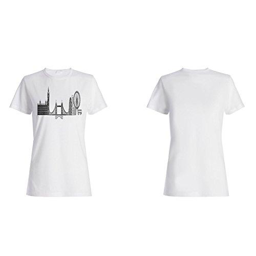 Neue Reise Die Welt London Damen T-shirt m365f