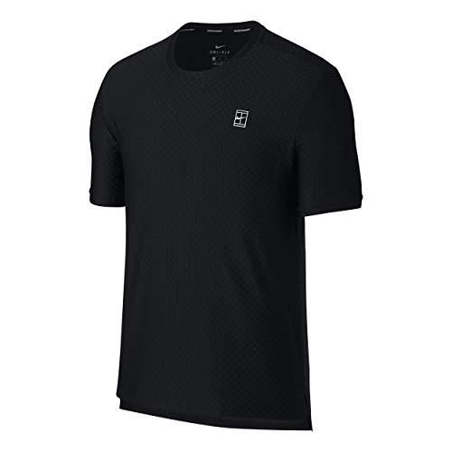 Nike Haut Courtes Noir Bl blanc Xxl Court Manches Checkered rrdwq1H