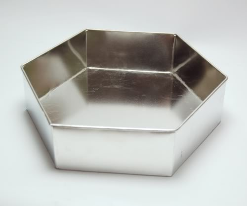 Hexagon Birthday Wedding Anniversary Cake Baking Pan 6 inch (15cm)