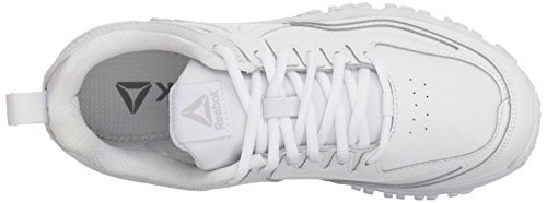 White White Men's Reebok Sneaker Leather Ridgerider White wWFZ8WUzIq