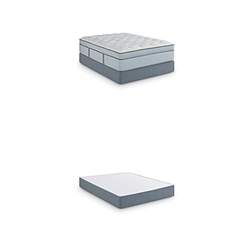 Scott Living By Restonic Hermitage Euro Top Micro Coil Bed Mattress and  5