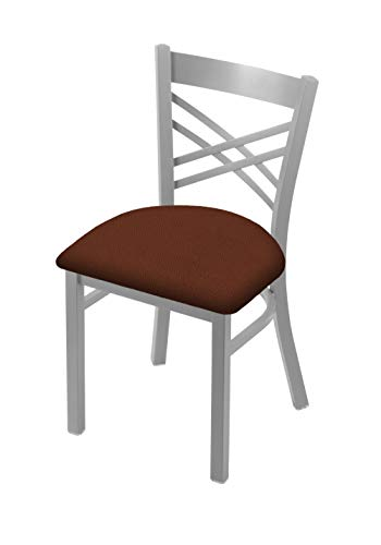 Holland Bar Stool Co. 620 Catalina 18 Chair with Anodized Nickel Finish and Rein Adobe Seat