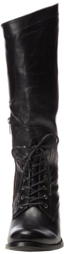 Riding Smooth Rond Cuir En Leather Mi Black Mode Vintage Melissa Bottes Frye Lace mollet 5PwtnZUq