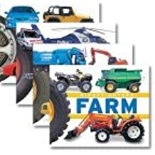 Mighty Movers 4-Pack ~ Cars, Diggers & Dumpers, Emergency, & Farm