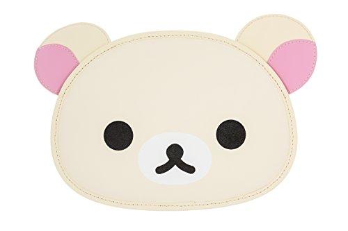 Rilakkuma by San-X - Korilakkuma Vinyl Face Purse Over Shoulder Bag Authentic Licensed Product (Cotton Handbag Shoulder Bag)