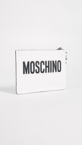 Moschino Pochette Bianca Not Toy Bianco 84468210
