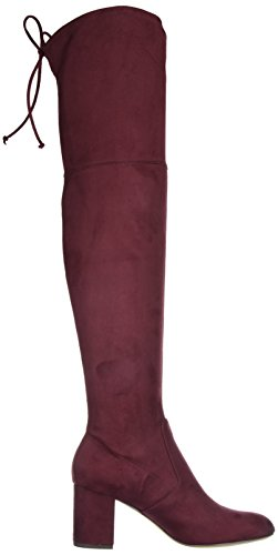 Charles Di Charles David Womens Owen Fashion Boot Burgundy