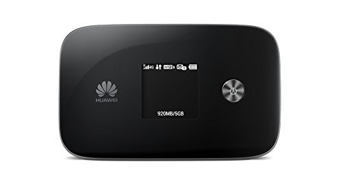 Huawei E5786s-32 300 Mbps 4G LTE & 43.2 Mpbs 3G Mobile WiFi (4G LTE in Europe, Asia, Middle East, Africa & 3G globally) (Black) by Huawei