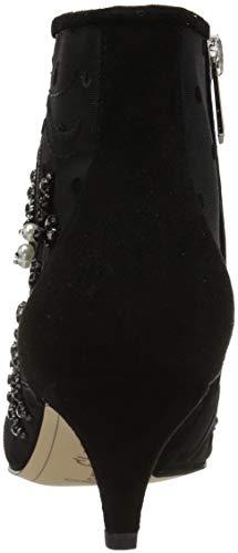 Abstract Embroidery Sam Fashion Edelman Black Wave Boot Women's Kami xnqw7npvO