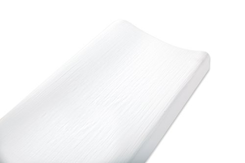 aden by aden + Anais Changing Pad Cover, Solid White by Aden