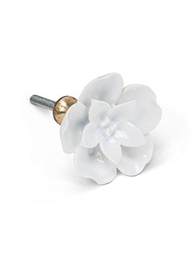 Flower Ceramic Drawer Pull - 7