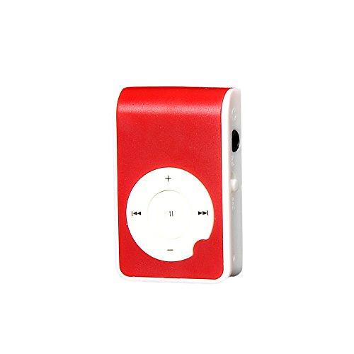 - YKYK Mini Plastic Clip Metal USB MP3 Player Support Micro SD TF Card Music Media Mutliple Color Elegant Music Sound Quality